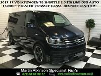 2017 VW Volkswagen Transporter T6 Shuttle 2.0 TDi LWB DSG Auto 150BHP