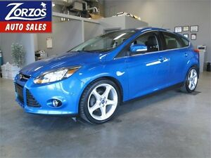 2012 Ford Focus Titanium/Leather/Sunroof/Self Parking