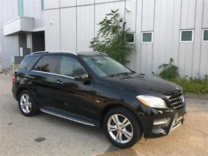 2012 MERCEDES BENZ ML350 BLUETEC DIESEL 102KM CAMERA NAVIGATION
