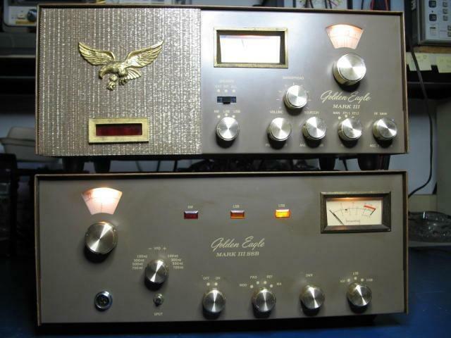 Browning Golden Eagle Mark 3 III CB Radio Base Station Mark III