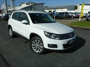 2014 Volkswagen Tiguan 5N MY15 132TSI DSG 4MOTION White 7 Speed Sports Automatic Dual Clutch Wagon Westcourt Cairns City Preview