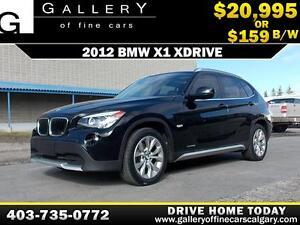 2012 BMW X1 xDrive28i $159 bi-weekly APPLY NOW DRIVE NOW