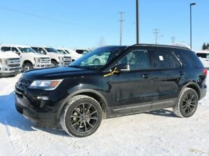 2018 Ford Explorer XLT, 202A, 3.5L V6, 4WD, SYNC3, REAR CAMERA,