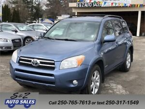 2008 Toyota Rav4 Limited V6 LOW KM! MUST SEE!