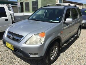 2002 Honda CR-V RD Sport Silver 4 Speed Automatic Wagon Jewells Lake Macquarie Area Preview