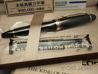 Sailor King Profit (KOP) ST Broad nib 21K with converter 11-6001-620 NEW!