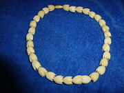 Faux Ivory Necklace