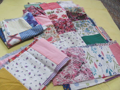 Vintage cotton quilt blocks fabric ranges from 1930
