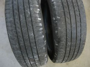EXC PAIR OF MICHELIN 225/65R17 ALL SEASON $50 FOR BOTH