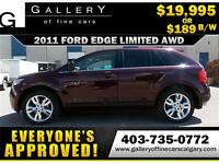 2011 Ford Edge LIMITED AWD $189 bi-weekly APPLY NOW DRIVE NOW