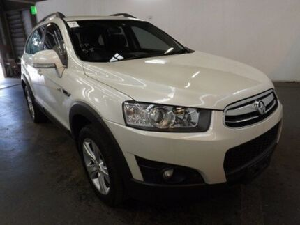 2011 Holden Captiva CG Series II 7 CX (4x4) White 6 Speed Automatic Wagon Geebung Brisbane North East Preview