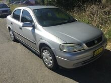 2004 Holden Astra TS City Silver 4 Speed Automatic Sedan Jewells Lake Macquarie Area Preview