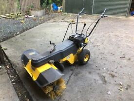 Sweeper, Jansen MKB100 self propelled rotary brush with collector
