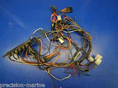 instrument panel wiring harness, 1978 bayliner mutiny 1750mu boat model