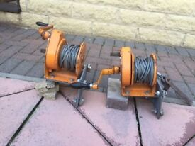 2 X winches for sale