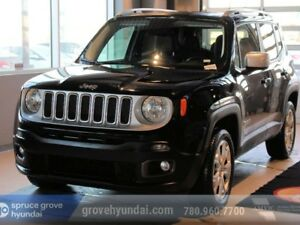 2017 Jeep Renegade LIMITED 4X4 WITH NAVIGATION SUNROOF & BACK UP