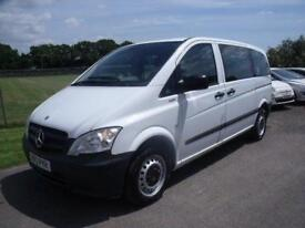 MERCEDES VITO 113 CDI TRAVELINER - 9 SEATS - AUTO White Diesel, 2012