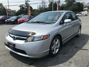 2008 Honda Civic Sdn LX-SR NEW MVI, NO RUST, LOW KMS , SUNROOF
