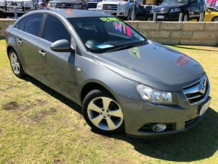 2010 Holden Cruze JG CDX Grey 6 Speed Sports Automatic Sedan Wangara Wanneroo Area Preview