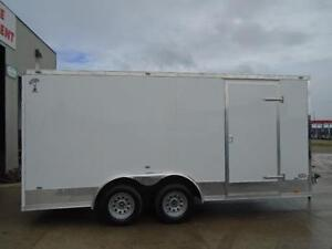 QUALITY TRAILER, GREAT PRICE! 8X16 ATLAS WITH RAMP DOOR!! London Ontario image 3