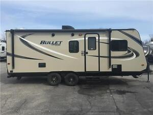 2017 KEYSTONE BULLET 2190EX HYBRID TRAVEL TRAILER