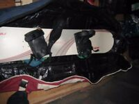 NITRO Snowboard 1.45 m long with bindings