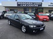 2007 Ford Falcon BF MkII 07 Upgrade XR6 Onyx Black 6 Speed Auto Seq Sportshift Sedan Wangara Wanneroo Area Preview