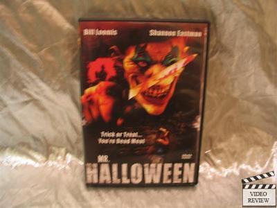 Mr. Halloween DVD Bill Loomis Shannon Eastman