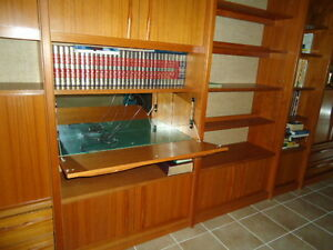 Eames Era, Teak, Denmark Wall Unit, Near new condition Williams Lake Cariboo Area image 4