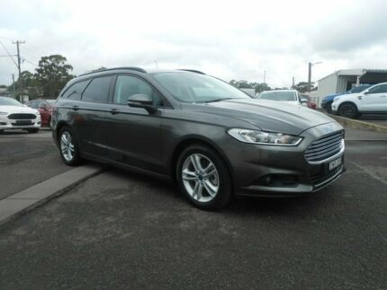 2017 Ford Mondeo Md 50my Ambiente Pwrshift Magnetic 6 Sd Sports Automatic Dual Clutch Wagon