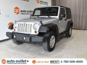 2011 Jeep Wrangler One Owner! Sport 4WD, Manual
