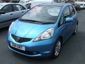 2011 HONDA JAZZ 1.4 i VTEC EX From GBP8,195 + Retail Package