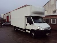 Iveco Daily 65C18 14Ft Luton Box with 500kg Cantalever Tali Lift.