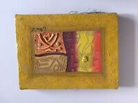 Small - Hand Painted - Canvas - Caribbean