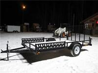 7' x 12' Canadian Made utility trailer $2500