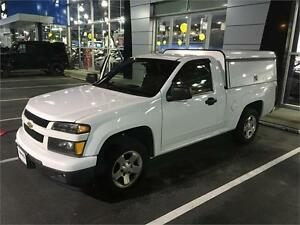 2012 Chevrolet Colorado with work canopy ARI white