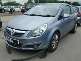 vauxhall corsa d 1.7 diesel 3dr in z163 breaking for spare