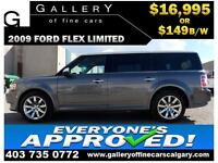 2009 Ford Flex LIMITED AWD $149 bi-weekly APPLY NOW DRIVE NOW