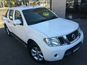 2014 Nissan Navara D40 MY12 Upgrade ST (4x2) White 5 Speed Automatic Dual Cab Pick-up North Strathfield Canada Bay Area Preview