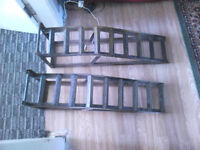 2 car ramps good working order
