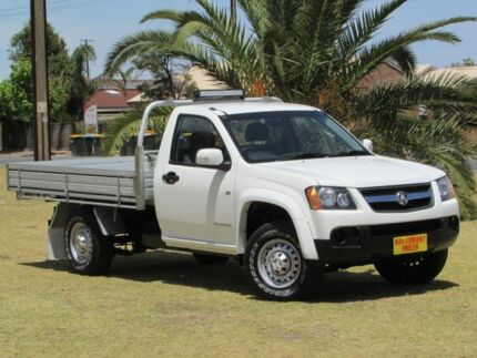 2009 Holden Colorado RC MY09 LX White 4 Speed Automatic Cab Chassis