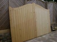 NEW SOFTWOOD SUFFOLK GATES