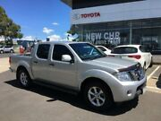 2012 Nissan Navara D40 S6 MY12 ST 4x2 Silver 5 Speed Sports Automatic Utility Mornington Mornington Peninsula Preview