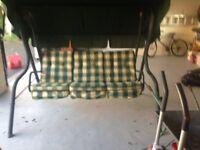 Garden Three Seater Swinging Hammock