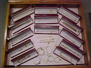 BRACELETS*8**9K**10K**14k**18K**BRACELETS-EMERALDS & DIAMONDS-BANGLES-PERSONAL SHOPPING *JUST 20 minutes to BEAMSVILLE