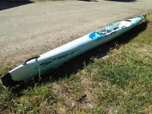 Spirit Fury Plastic Surfski - New Price!