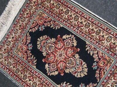 Türkische Seidenteppich,Natur Seide auf Seide