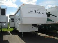 WOW!!! Challenger 32' Fifth Wheel with 3 Slides!!!