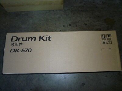 Kyocera DK-670 DRUM KIT GENUINE