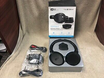 MEE AUDIO CONNECT BLUETOOTH WIRELESS HEADPHONE SYSTEM FOR TV T1H1 Ships Free!! 1 Headband System